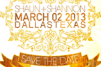Shaun + Shannon's Save The Date